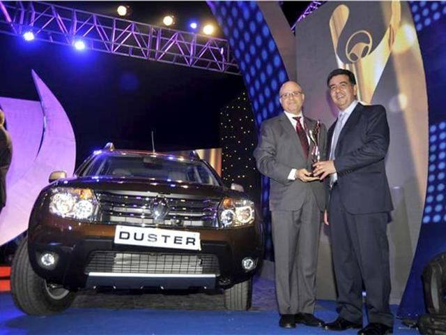The Duster bagged the Car of the Year award while the Bike of the Year award went to the KTM 200 Duke. Photo:Autocar india
