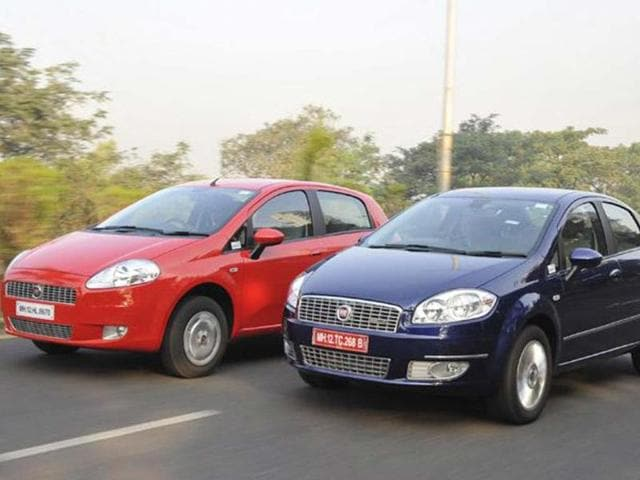 New Fiat Linea, Grande Punto review, test drive