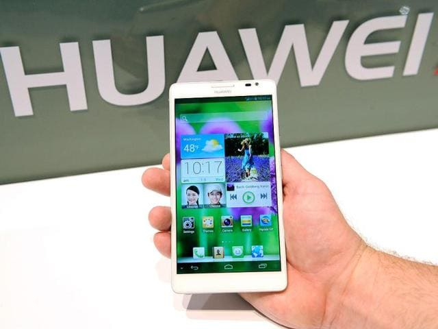 The-Huawei-Ascend-Mate-phablet-is-displayed-at-the-2013-International-CES-at-the-Las-Vegas-Convention-Center-in-Las-Vegas-Nevada-AFP-Photo