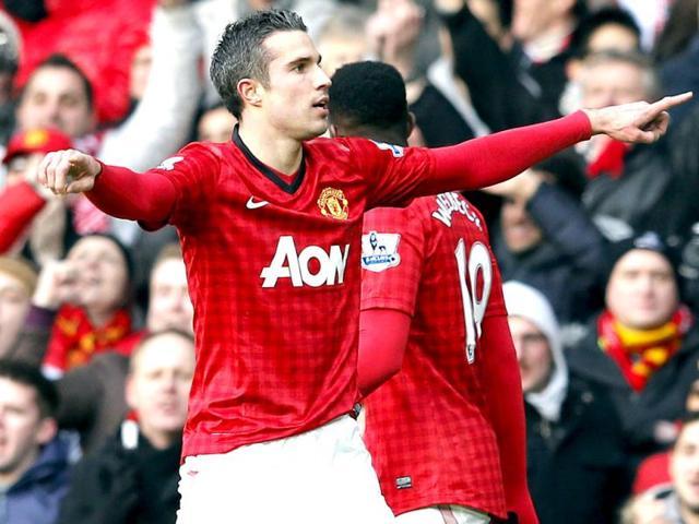 Robin van Persie,Wayne Rooney,Manchester United
