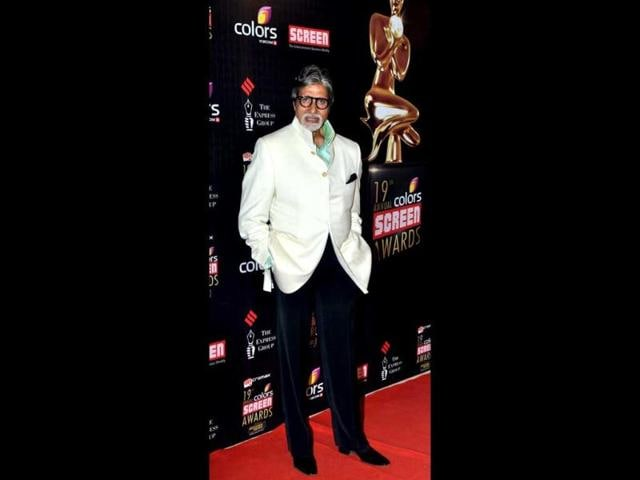 Bollywood-actor-Amitabh-Bachchan-poses-at-a-function-for-Jolly-L-L-B-in-Mumbai-on-January-8-AFP-PHOTO