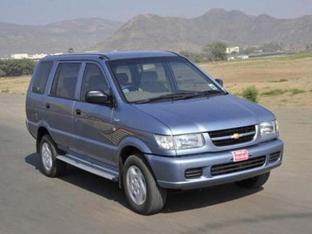 Chevrolet Tavera Ss D1 Neo 8 Seater Autos Hindustan Times
