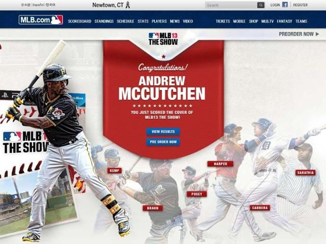 MLB-com-covervote-Andrew-McCutchen-to-be-MLB-13-The-Show-cover-star-Photo-AFP