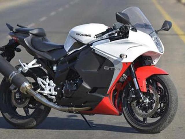 Hyosung GT650R review, test ride