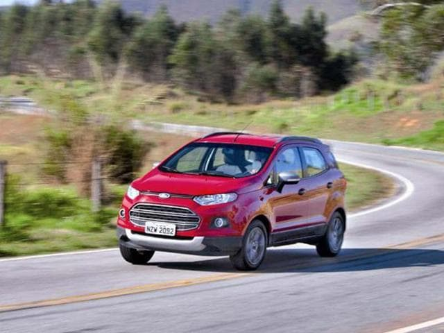 Ford EcoSport review, test drive