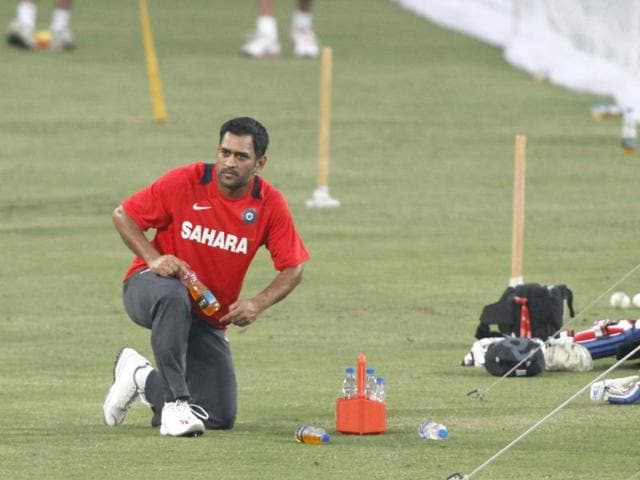 Captain-MS-Dhoni-during-practice-at-JSCA-International-Stadium-Complex-in-Ranchi-Subhendu-Ghosh-HT-Photo