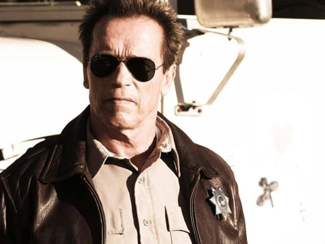 Arnold-Schwarzenegger-plays-Ray-Owens-the-watchful-sheriff-of-a-sleepy-border-town-Sommerton-Junction