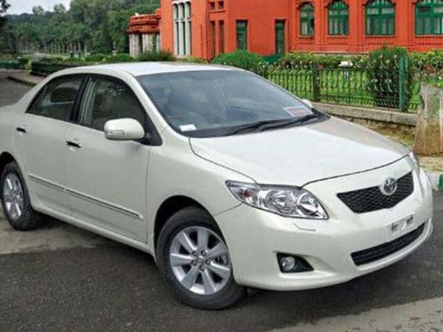 Toyota,sedan Corolla Altis,faulty driveshaft