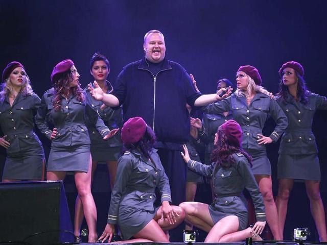 Megaupload-founder-Kim-Dotcom-C-launches-his-new-file-sharing-site-Mega-surrounded-by-dancers-in-Auckland-January-20-2013-Dotcom-who-is-fighting-extradition-to-face-U-S-charges-of-internet-piracy-has-launched-a-new-cloud-storage-service-called-Mega-at-a-function-at-Dotcom-Mansion-in-Coatsville-Auckland-Reuters-Nigel-Marple