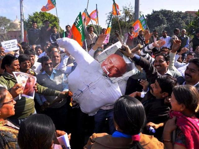'Saffron terror' remark: BJP wants Shinde sacked, RSS calls him 'darling of terrorists'