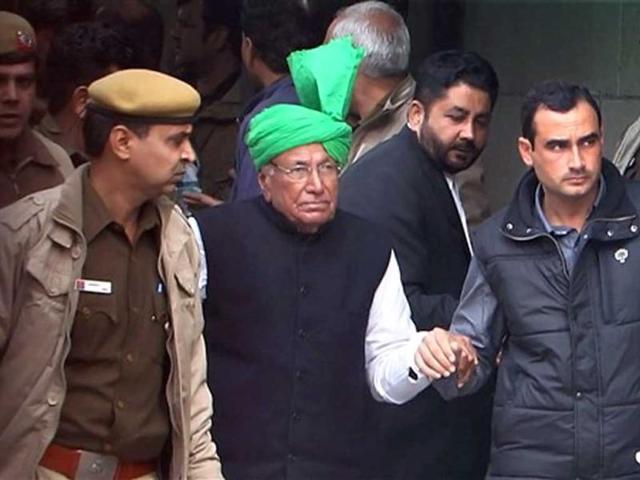 Former Haryana CM O P Chautala gets parole for a month