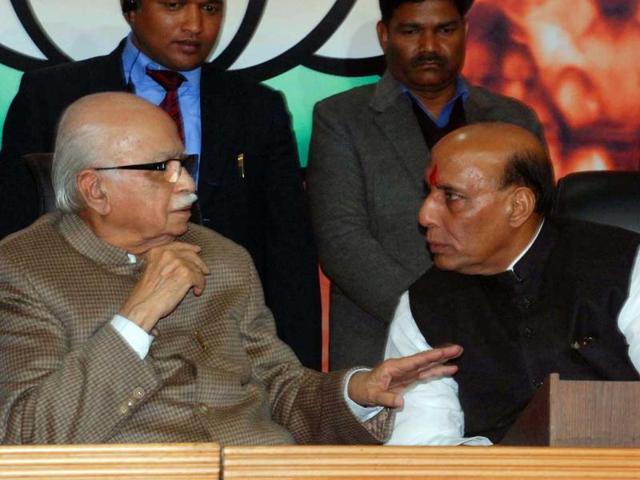 Advani,Sangh parivar,BJP