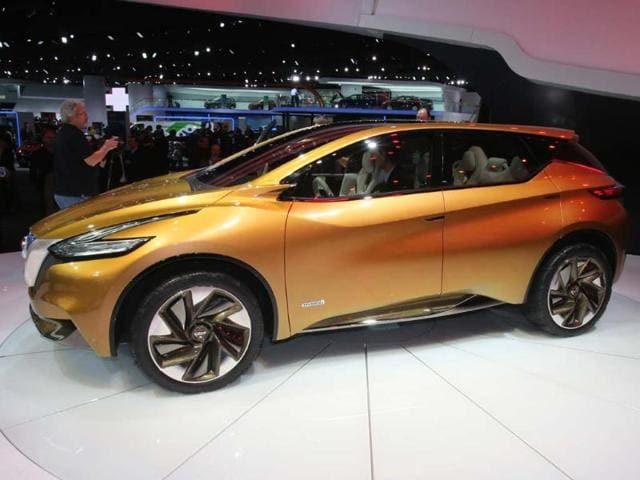 Nissan Resonance: Winner of the 2013 Detroit motor show concept car of the year, the Resonance Concept is expected to go into production as a replacement for the existing Murano SUV and will feature a range of hybrid as well as more traditional powertrains. Photo:AFP