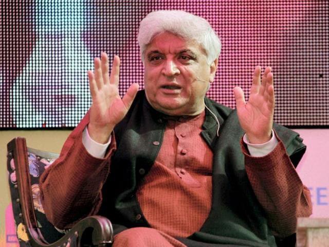 Poet-and-lyricist-Javed-Akhtar-speaks-during-the-session-Bollywood-and-National-Narrative-at-Jaipur-Literature-Festival-in-Rajasthan-PTI