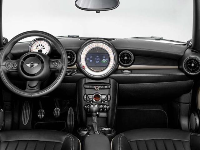The Mini Clubman Bond Street Interior. Photo:AFP