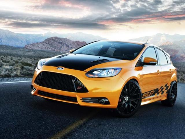 The Shelby Focus ST marks a return to Carroll Shelby's roots and of taking an everyday car and making it incredibly fast. Photo:AFP