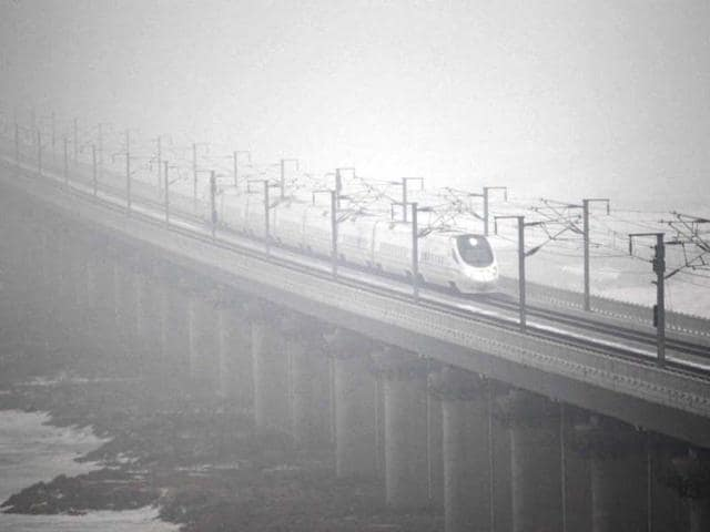 China smog,World Health Organisation,Harbin