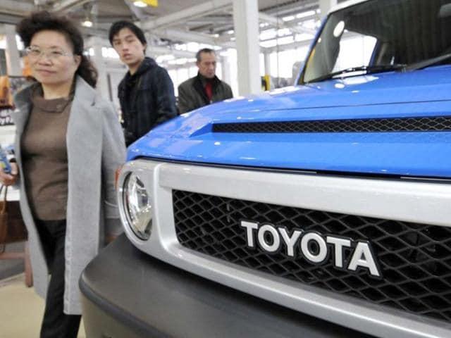 Toyota global sales,General Motors,Detroit