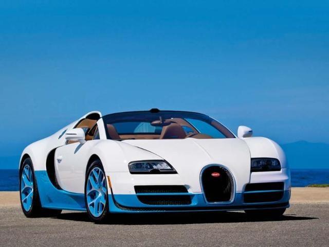 Bugatti Veyron 16.4 Grand Sport Vitesse. Photo:AFP