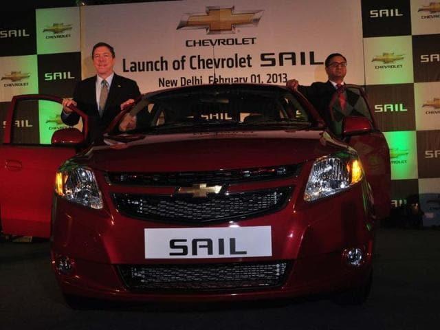 GM India Launches Chevrolet Sail Premium Sedan