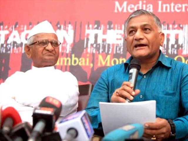 Former Indian army chief,VK Singh,failed to appear