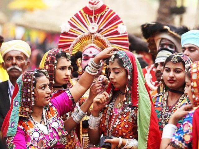 A cultural potpourri at the Surajkund mela