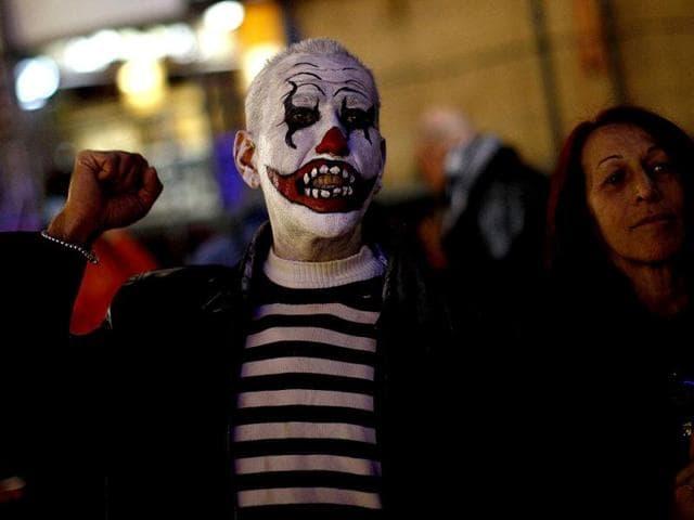 Madrid protest,Madrid economic protest,spain for arts