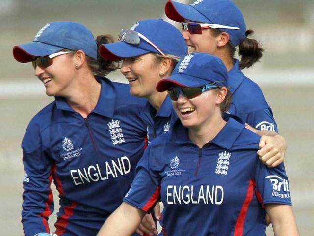 English-team-celebrates-the-dismissal-of-Amita-Sharma-during-the-India-England-Women-s-World-Cup-match-in-Mumbai-PTI-Photo