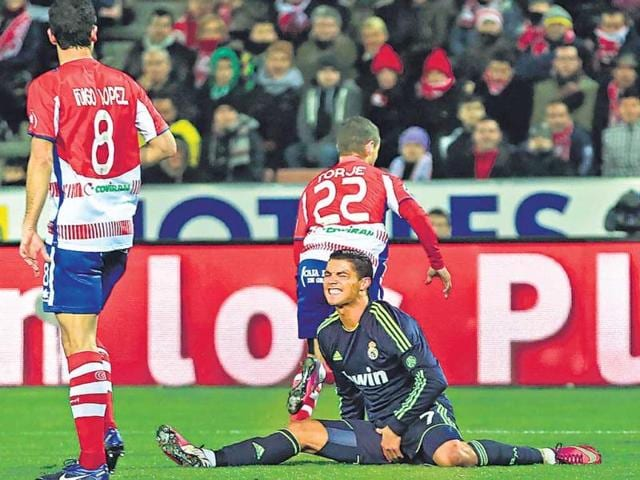 It-was-a-horrible-night-for-Cristiano-Ronaldo-who-not-only-failed-to-get-a-goal-but-also-ignominiously-scored-an-own-goal-in-Real-Madrid-s-1-0-defeat-to-Granada-Reuters-photo