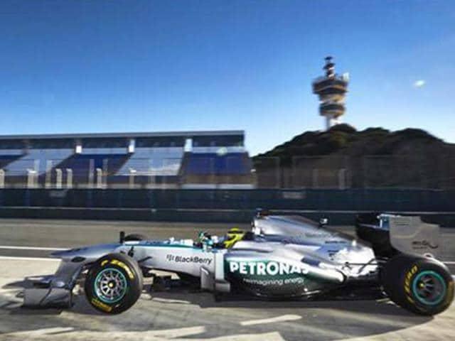 Mercedes-new-W04-makes-debut-at-Jerez