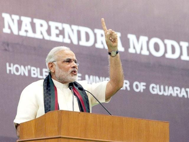 Modi says secularism for Congress is religion first