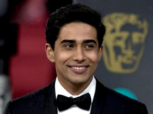 BAFTA-Rising-Star-hopeful-Suraj-Sharma-was-all-smile-at-the-red-carpet-although-Juno-Temple-beat-him-to-the-award