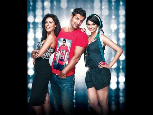 John-Abraham-Prachi-Desai-and-Chitrangada-Singh-in-a-still-from-his-upcoming-movie-I-Me-Aur-Main-Photo-courtesy-Facebook