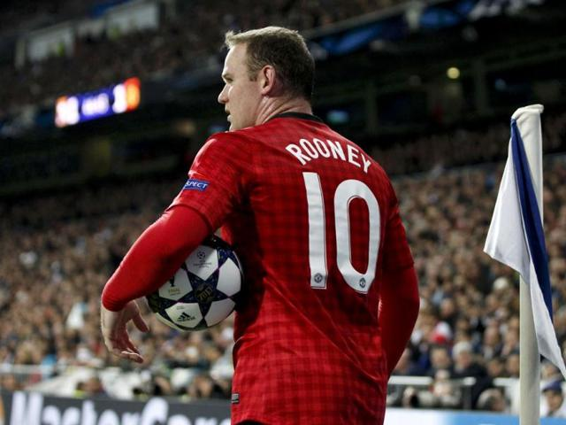Rooney reaches crossroads in Man United career