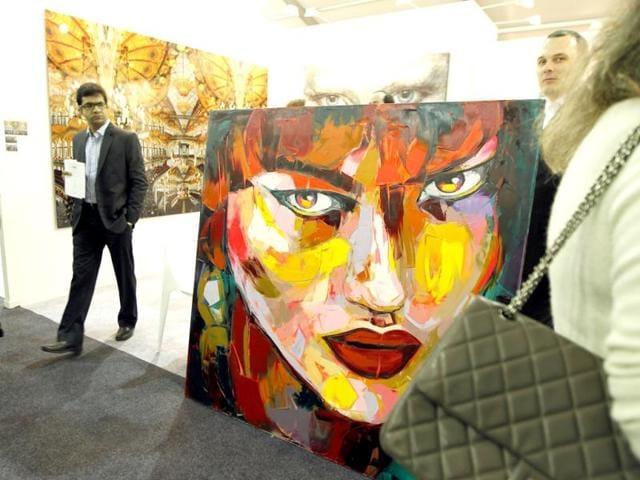 Suchitra Gahlot,artist,India Art Fair