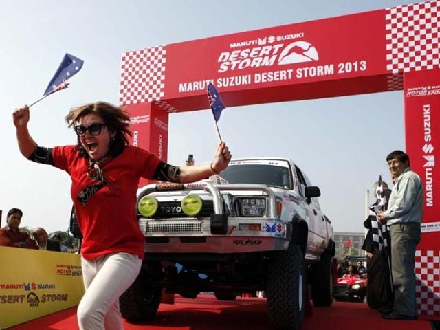 Desert Storm rally flagged off from Delhi