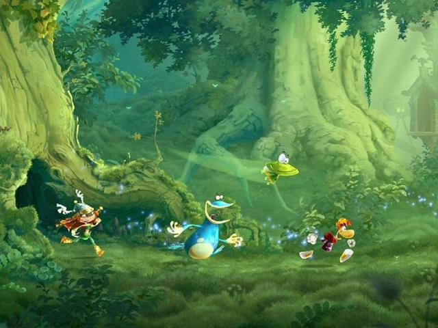 The-Rayman-Legends-Wii-U-Challenge-Mode-will-support-up-to-five-players-Photo-AFP