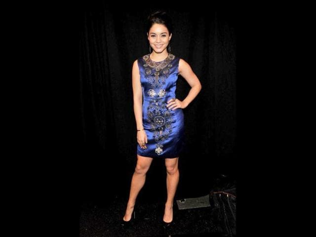 Actress-Vanessa-Hudgens-poses-backstage-at-the-Naeem-Khan-Fall-2013-fashion-show-during-Mercedes-Benz-Fashion-Week-at-The-Theatre-at-Lincoln-Center-on-February-12-2013-in-New-York-City-Stephen-Lovekin-Getty-Images-for-Mercedes-Benz-Fashion-Week-AFP