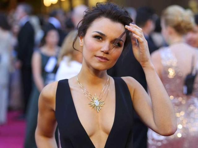 Samantha Barks of the film Les Miserables arrives at the 85th Academy Awards in Hollywood, California February 24, 2013. Reuters Photo