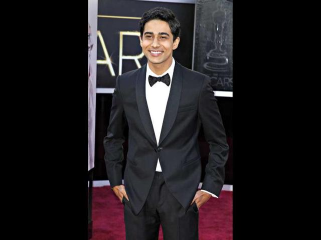 Suraj Sharma from the film Life of Pi arrives at the 85th Academy Awards in Hollywood, California February 24, 2013. Reuters Photo
