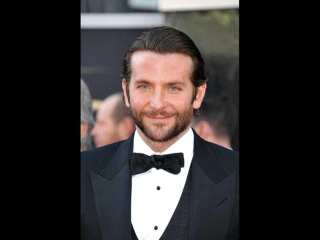 Actor Bradley Cooper arrives at the Oscars at the Dolby Theatre on Sunday Feb. 24, 2013, in Los Angeles. AP Photo