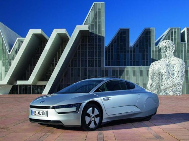 Volkswagen XL1. Photo:AFP