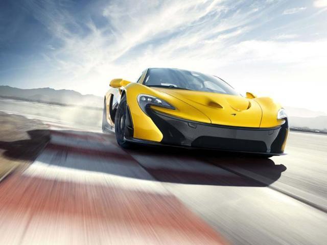 McLaren P1. Photo:AFP