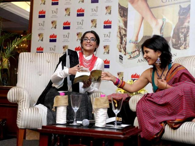 On-her-Delhi-connect-the-actor-who-launched-author-Anuja-Chauhan-s-new-book-on-Tuesday-says-My-characters-have-been-based-in-Old-Delhi-Delhi-6-South-Delhi-Aisha-and-in-the-YRF-film-in-Gurgaon-Delhi-and-I-have-a-connection