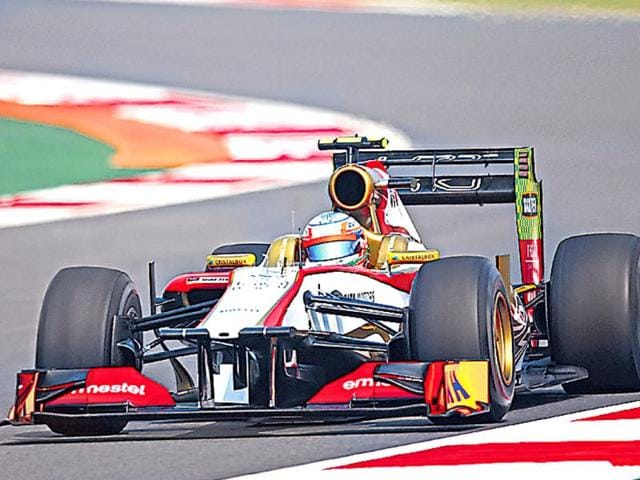 HRT-F1-s-sudden-closure-left-Narain-Karthikeyan-without-an-F1-seat-for-2013-until-the-possible-opening-at-Marussia-Getty-Images