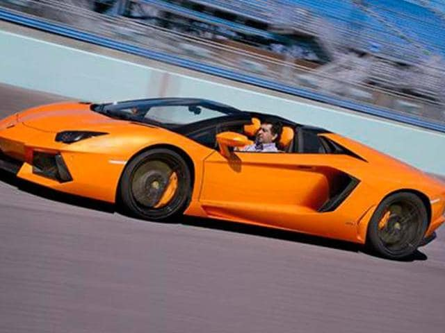 Lamborghini Aventador roadster review