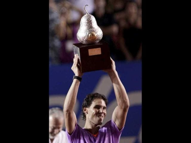 Nadal crushes Ferrer to win Mexican Open