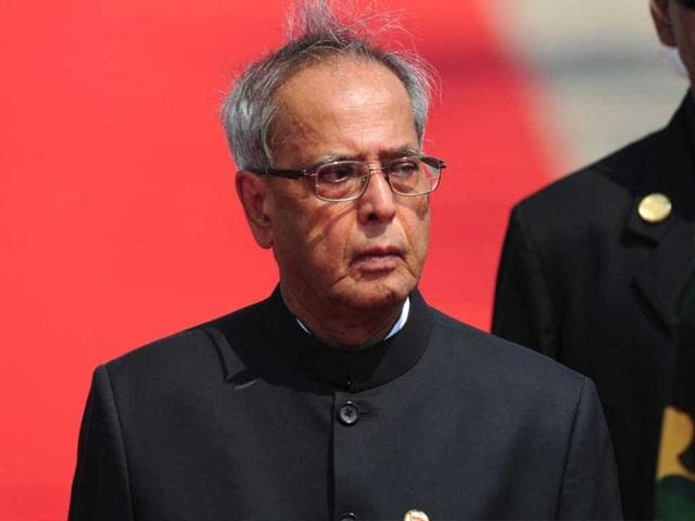 President-Pranab-Mukherjee-inspects-a-guard-of-honour-after-arriving-at-Hazrat-Shahjalal-International-Airport-in-Dhaka-AFP-photo