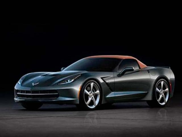 Chevrolet Corvette Stingray convertible revealed