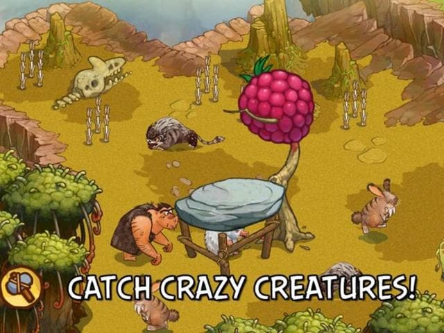 Creature-collection-in-The-Croods-app-Photo-AFP